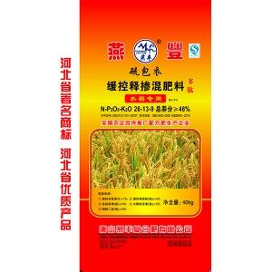 水稻缓控释掺混肥料
